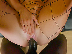 Hardcore ass drilling with a BBC for fake boobs Sienna Day