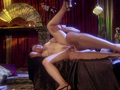 Jessica Bangkok gets her wet pussy pounded in many poses by a dude