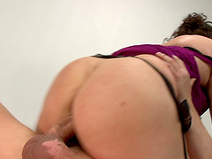 Fat mature Patti Petite gets her pussy and mouth penetrated