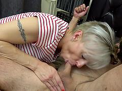 Nasty group sex with sluts Martina Steskalova and Gerlinda Spalova