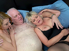 Dirty couple loves having sex with a younger escort Chanel Kiss