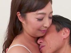 Older man fucks wet pussy of his mature wife Otowa Ayako. HD