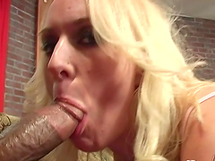 Kitty and Ruth Blackwell have interracial threesome with a stud