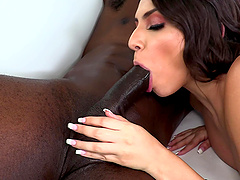Anal loving pornstar Hime Marie gets fucked hard by a black dude